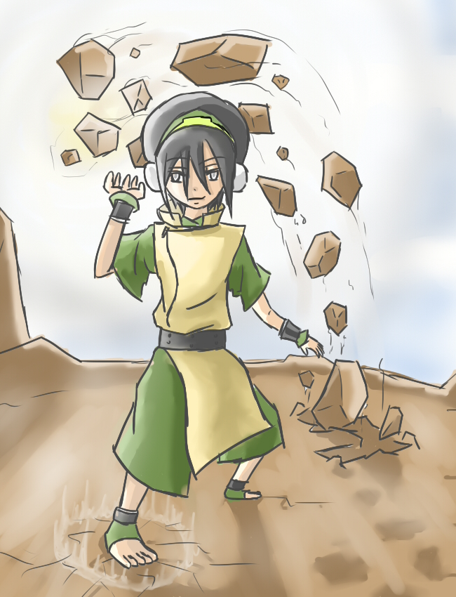 Toph Bei Fong by TimTam13