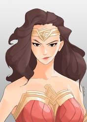 Wonder Woman by TimTam13