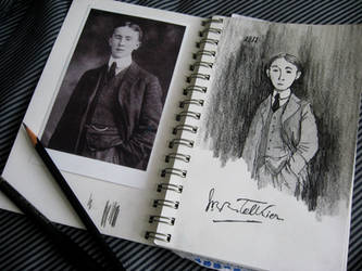 Tolkien In My Sketchbook by White-Rose-Tree