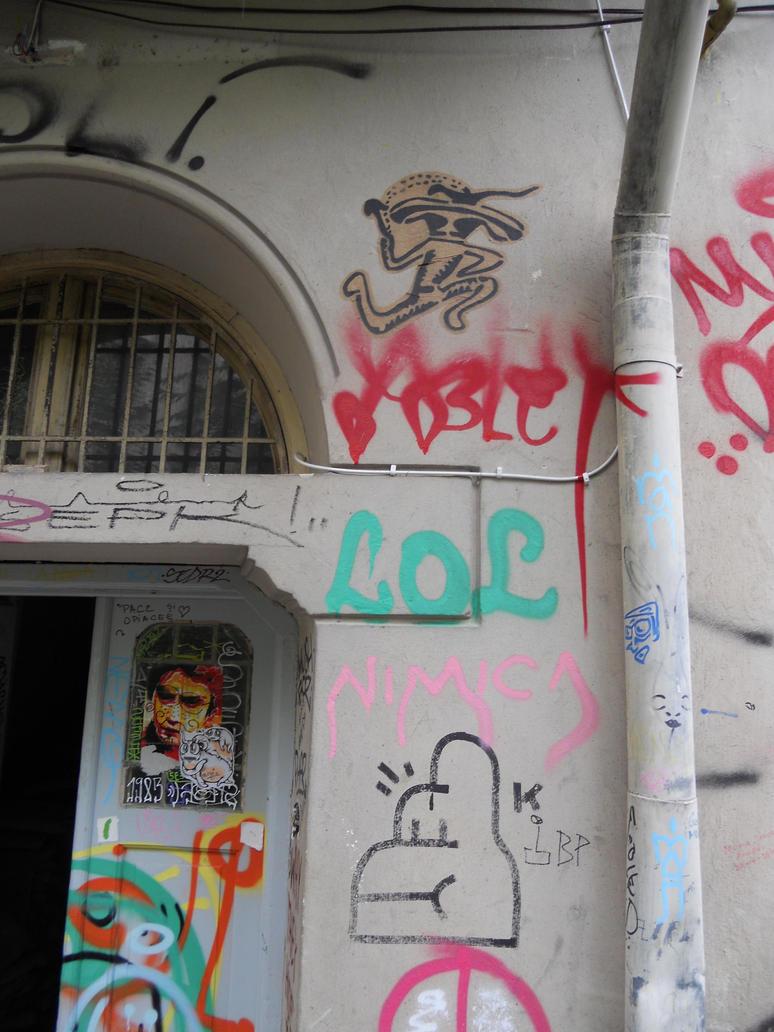 Cave art by el-Barto-Stencils
