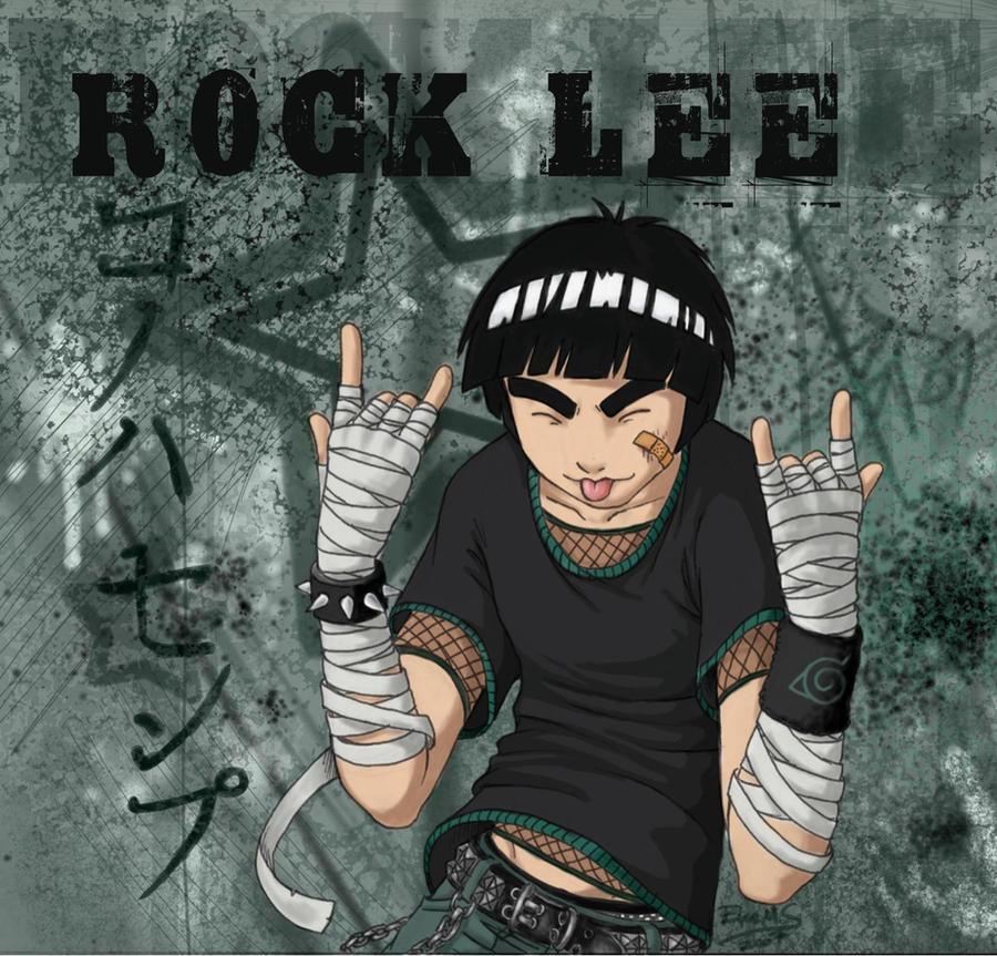 free anime wallpapers: wallpaper rock lee