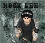 Rock Lee -- throw 'em up
