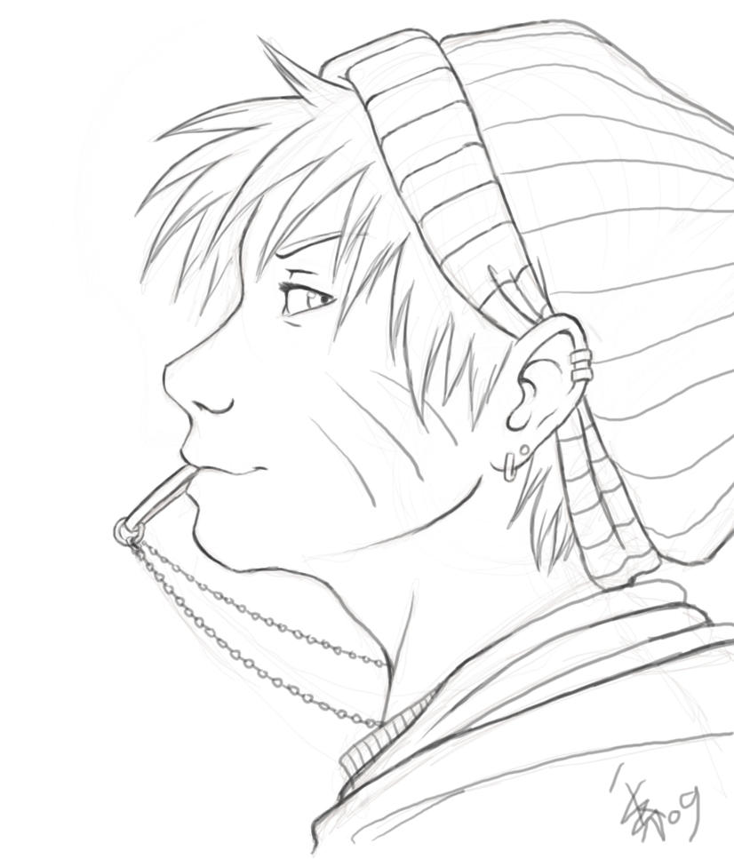 Lineart Naruto : Naruto lineart by nocturnalmoth on deviantart