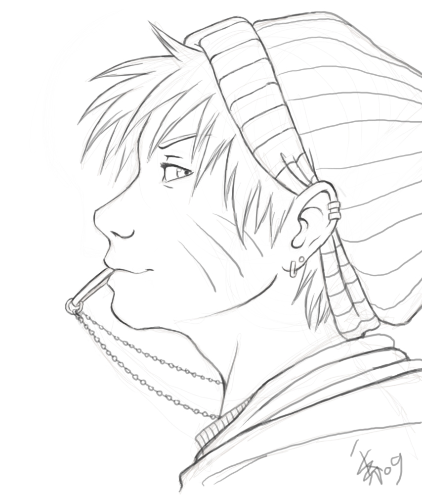 Naruto Lineart : Naruto lineart by nocturnalmoth on deviantart