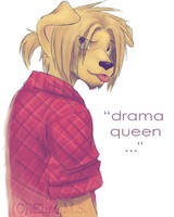 'Drama Queen' by nocturnalMoTH