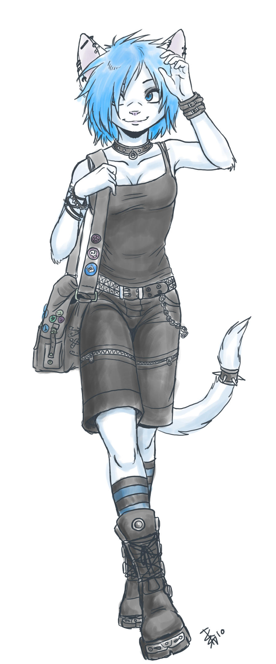 a drawing of Lillith by nocturnalMoTH