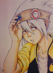 copic drawing - Soul Eater