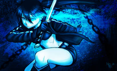 Black Rock Shooter - fanart