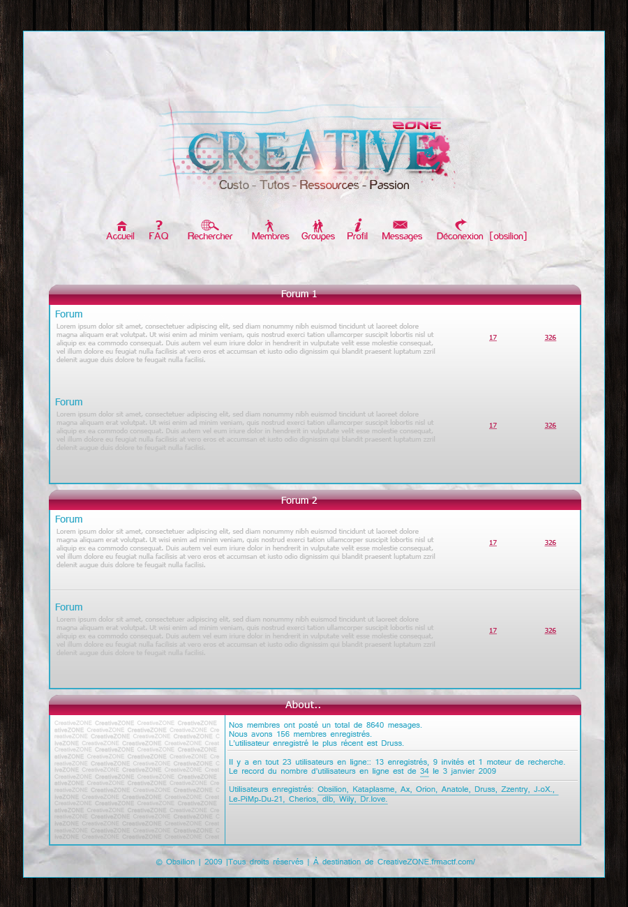 CreativeZONE by obsilion