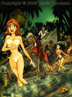 GILLIGAN'S ISLAND OF THE DEAD by Horror-Forever