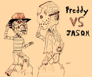 freddy Vs stupid ass-darkwicca by Horror-Forever