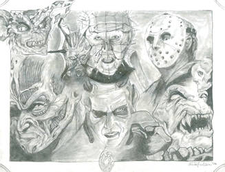 The Scream Team by Kole87 by Horror-Forever