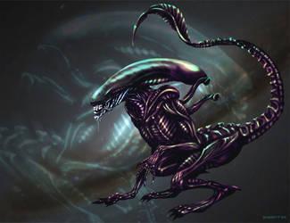 Alien Runner by herisheft by Horror-Forever