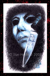 Micheal Myers by LittleMissEvi by Horror-Forever