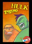 3D Hulk and Thing