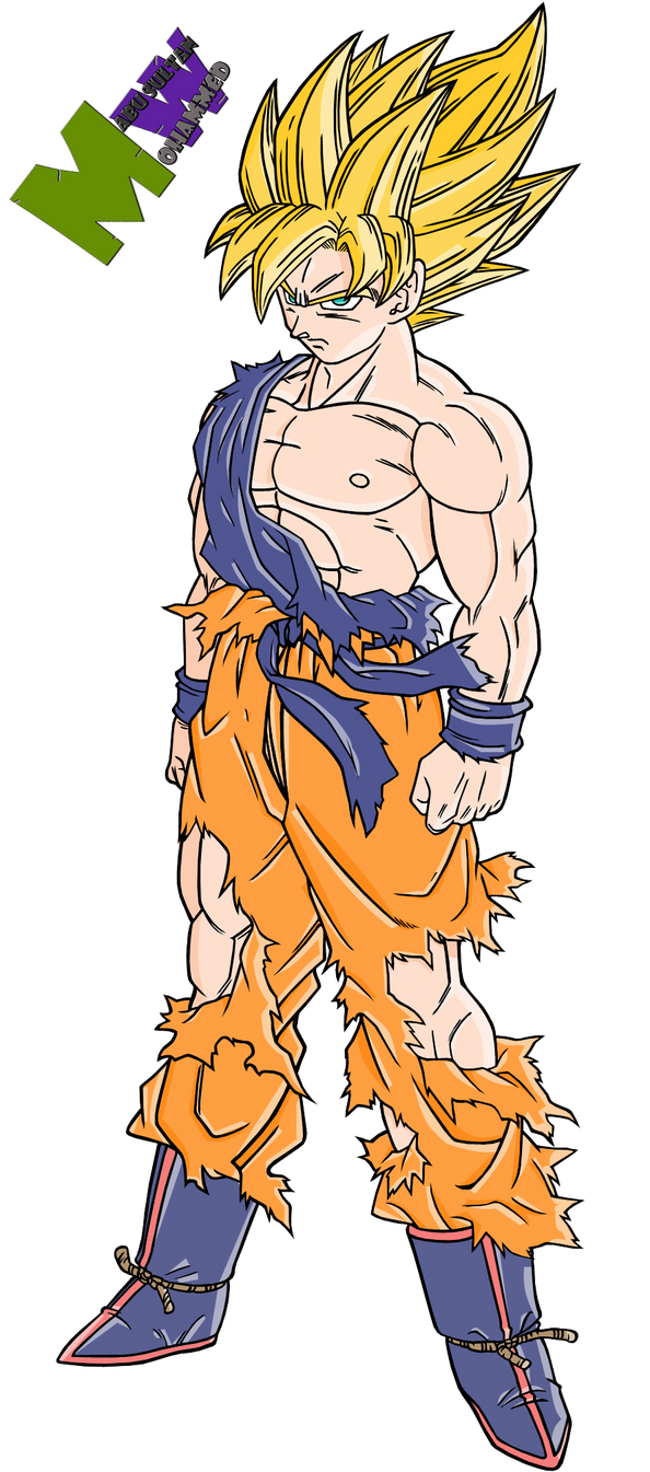 Goku-super-saiyan-4-coloring-pages-i13 by Alking-Luffy on ...