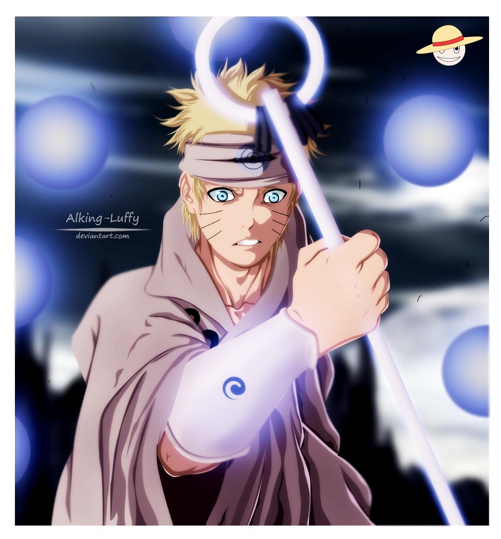 Naruto Fan Art - Coloring By Alking-Luffy by Alking-Luffy