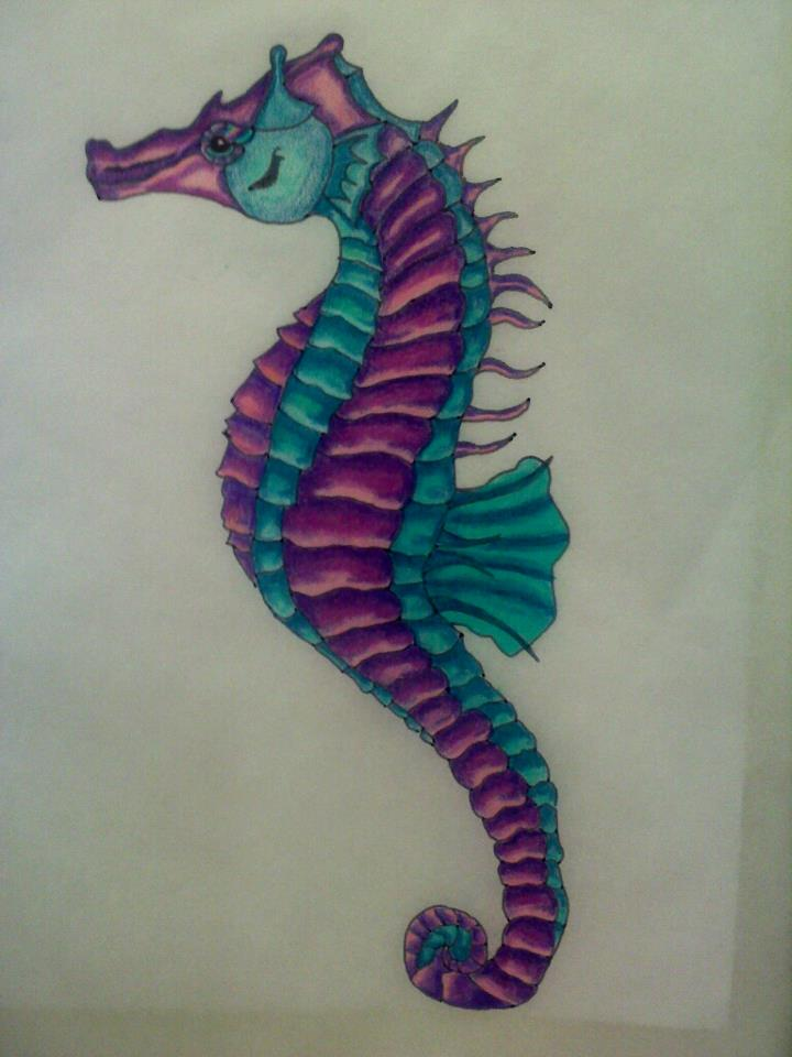 Seahorse by l0stwithalice on DeviantArt
