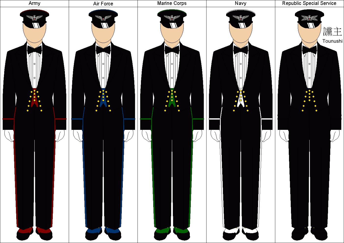 Military Evening Dresses