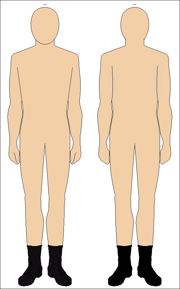 Uniform Mannequin by Tounushi