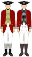 English Revolutionary War Uniforms by Tounushi