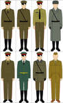 Selection of Cold War Soviet Uniforms