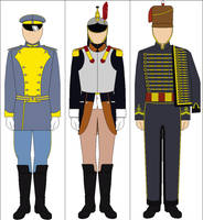 Assorted Cavalry Uniforms by Tounushi