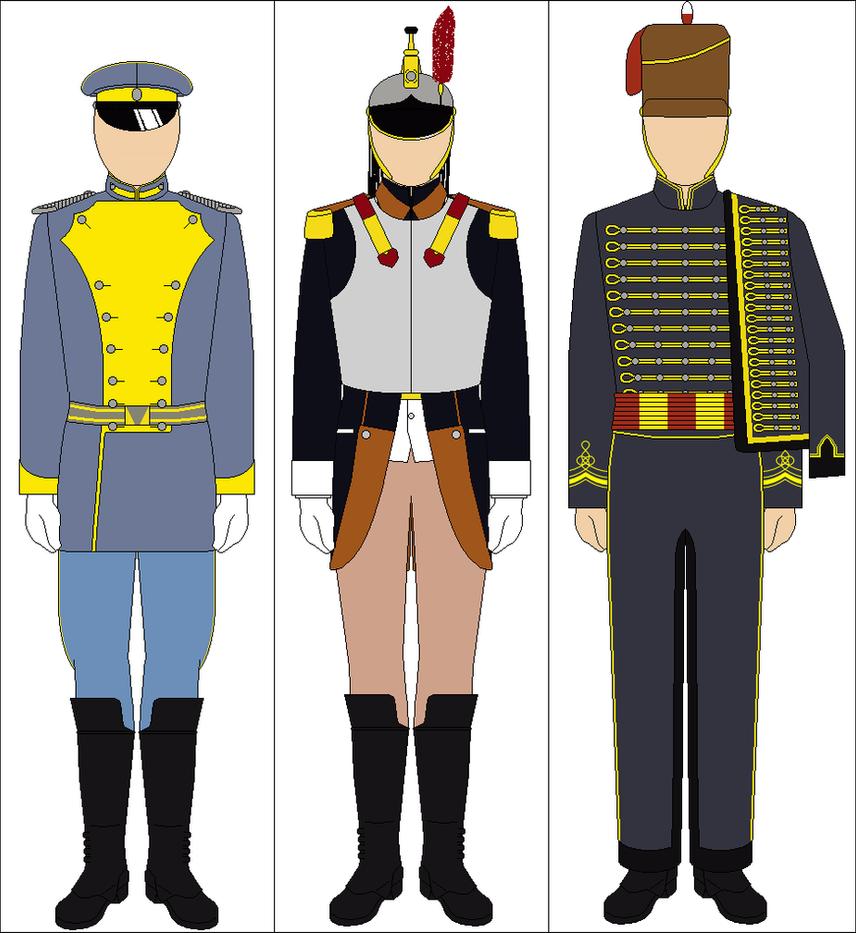 Calvary Uniform 110