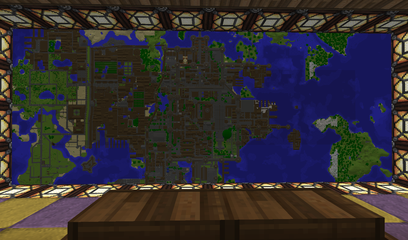 Minecraft city map by TounushiMinecraft City Map