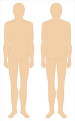 Uniform Mannequin, vectorized by Tounushi