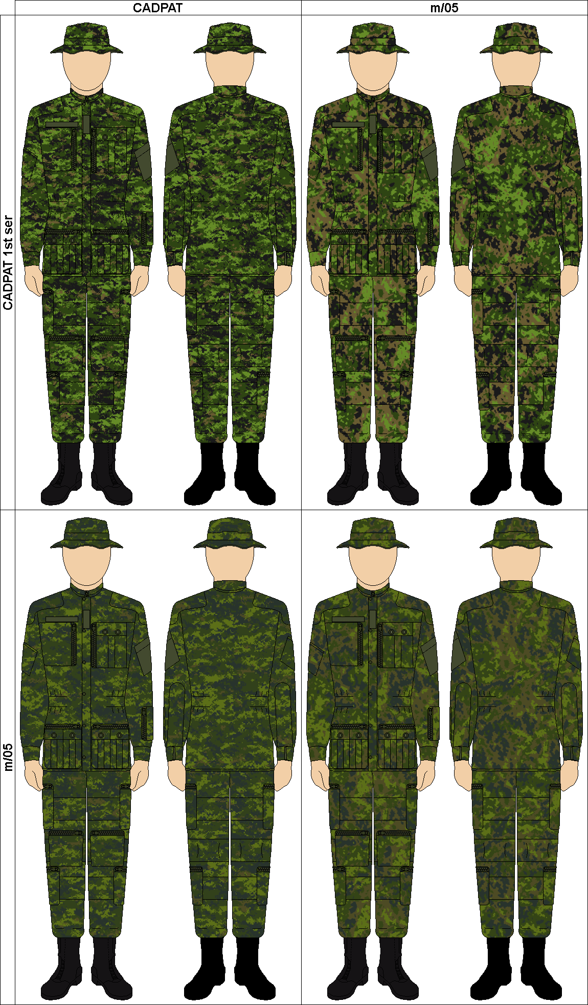 cadpat camo submited images - photo #12