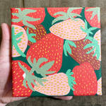 Strawberry Patch Painting
