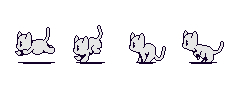 Cat Base Sprite Sheet by SammyCatBone