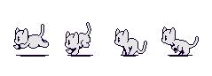 Cat Base Sprite Sheet by SammyCatBone