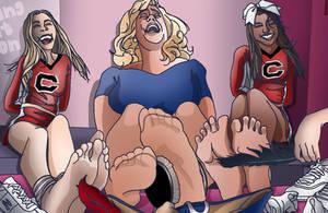 Tickling-Revenge of the Cheerleaders! by EyeDraw78