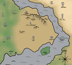 Map of Juuna by Lucca-Vendramel