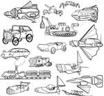 Spaceship Concepts by Lucca-Vendramel