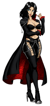 Bianca's Rocker Chick Outfit by Cherrys Designs