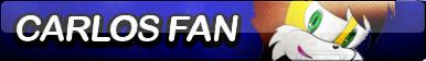 Carlos Fan Button by FoxButtonMaker