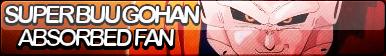 Super Buu Gohan Absorbed Fan Button by FoxButtonMaker