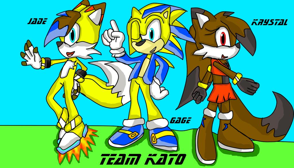 Team Kato by MaxJadeKitsuneFox