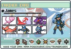 My Y trainer card by JadeHunterKato