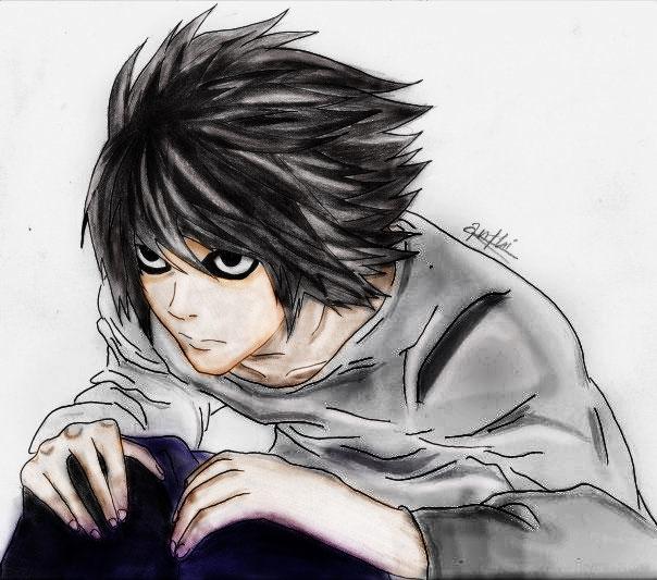 Death Note Photoshop L By Haniko-A On DeviantArt