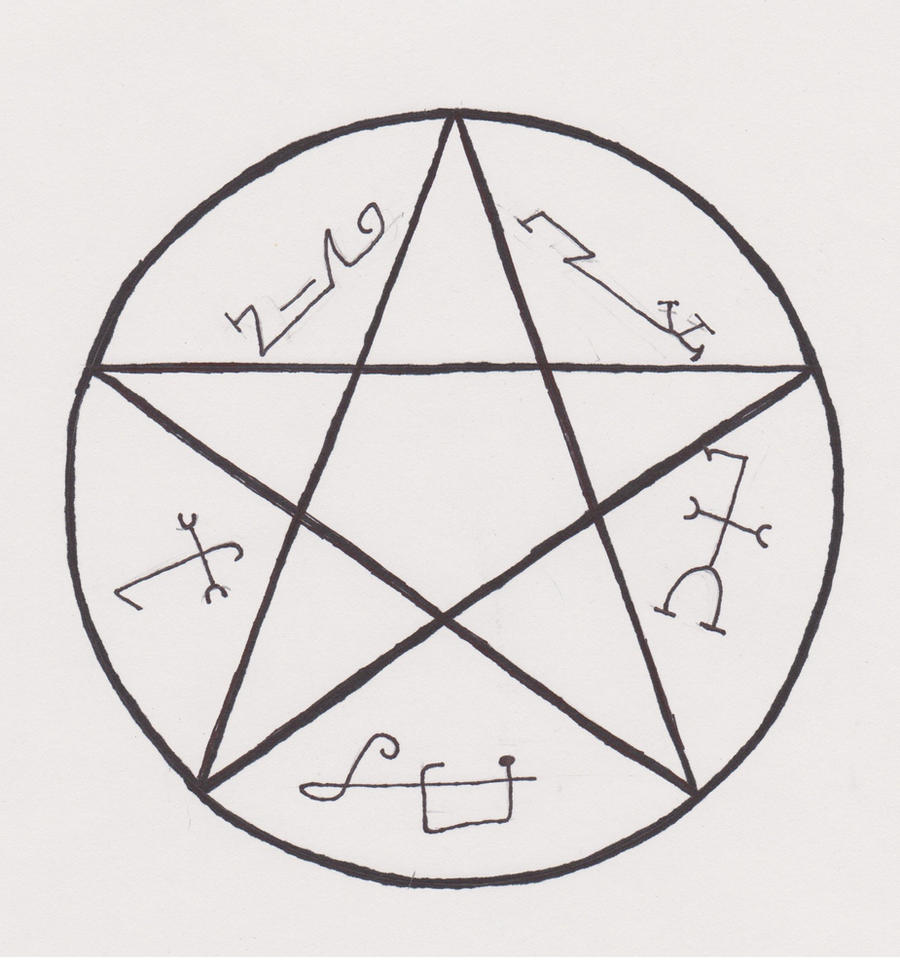 What Traps Demons Symbol
