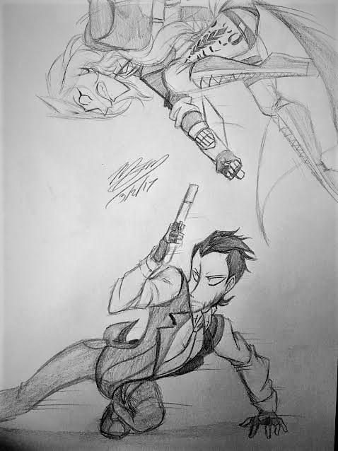 Siblings Fight by Artsaela