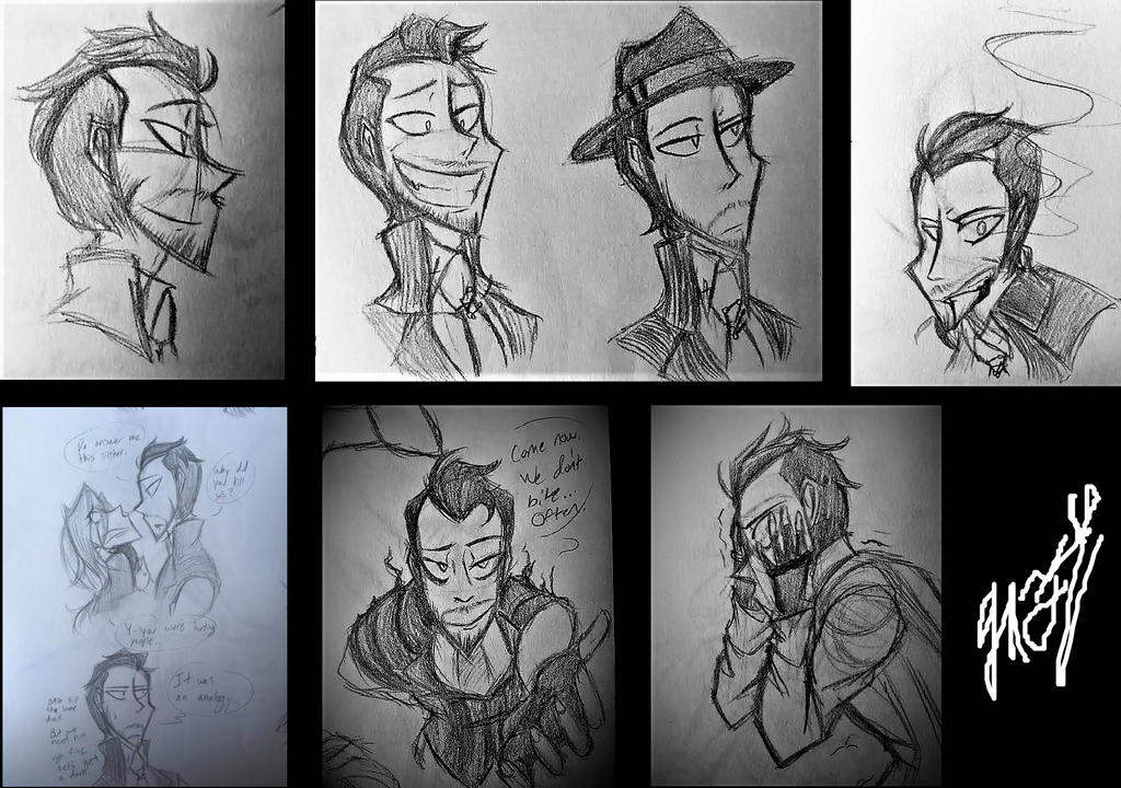 RMAV doodles by Artsaela