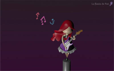 I Rock 3D by flautadepan