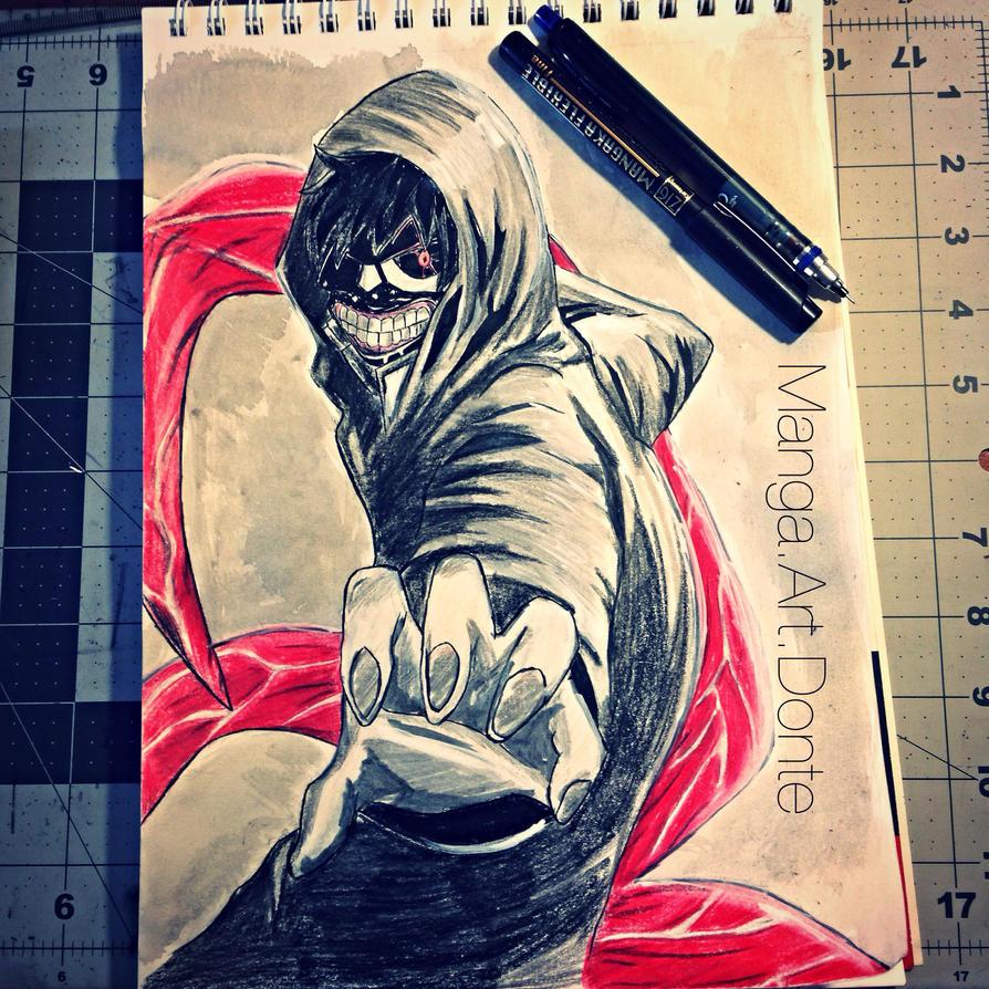 Tokyo Ghoul Ken Kaneki Drawing! By DonteManga On DeviantArt