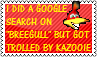 Trolled by Kazooie stamp by KawaiiSteffu