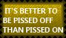 Pissed off versus pissed on by KawaiiSteffu